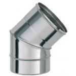 Bofill Отвод 45гр. нержавеющая сталь CI45 125мм.