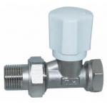 Вентиль радиаторный регулировочный TIM 1/2 прямой RD502.02
