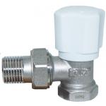Вентиль радиаторный регулировочный TIM 1/2 угловой RS501.02