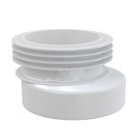 Адаптер для унитаза 110 резиновый эксцентрический 25мм