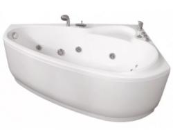 ассиметричная недорогая ванна
